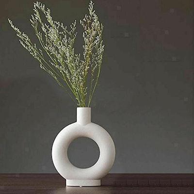 ForeverMonroes Ceramic Nordic Vase