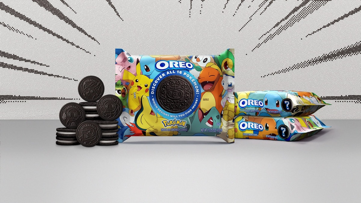 Here's where to buy Pokémon Oreos featuring all your favorite characters.