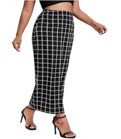 Verdusa Bodycon Long Skirt