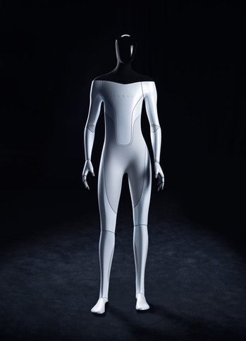 Initial plans call for the Tesla Bot to stand five feet eight inches and weigh 125 pounds.