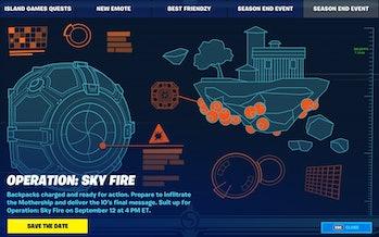 fortnite operation sky fire teaser 1