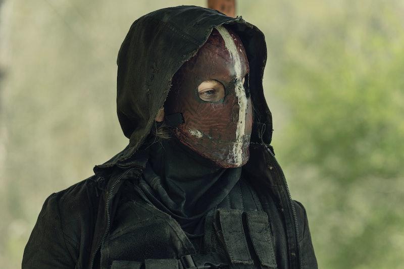 Lynn Collins returned as Leah on 'The Walking Dead.' Photo via AMC