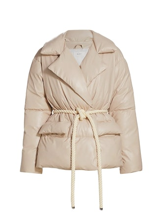 Liam Faux Leather Puffer Jacket from A.L.C., available to shop via Saks Fifth Avenue.