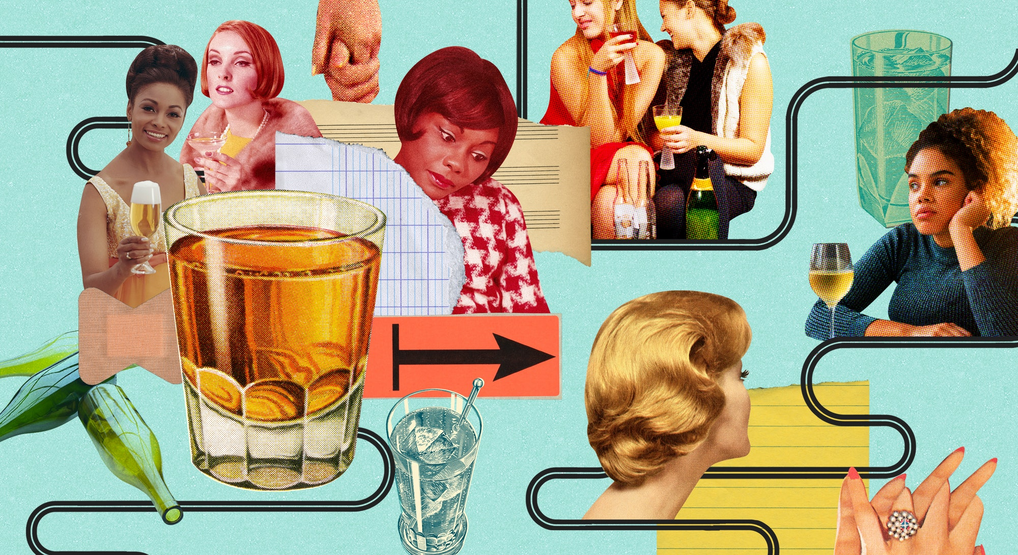 Three women describe how their friendships changed once they quit drinking.