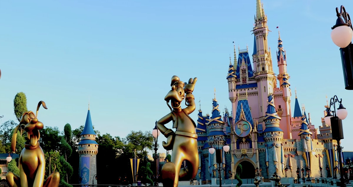 These photos of Disney's 50th anniversary gold character statues will make you want to go to the par...