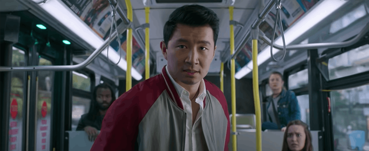 Shang-Chi fights bad guys on a bus, which is something adventurous that would need a 'Shang-Chi and ...