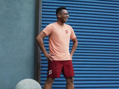 Peloton Apparel T-shirt and shorts