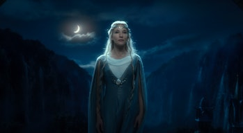 Cate Blanchett as Galadriel in The Hobbit: An Unexpected Journey