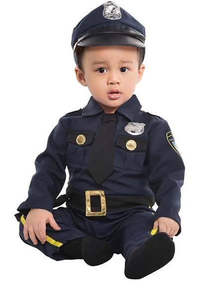 Police Officer Baby Halloween Costume