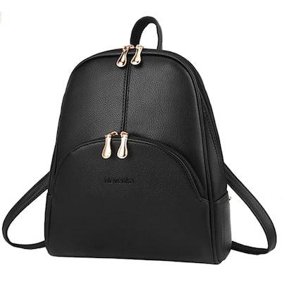 Nevenka Leather Backpack Purse