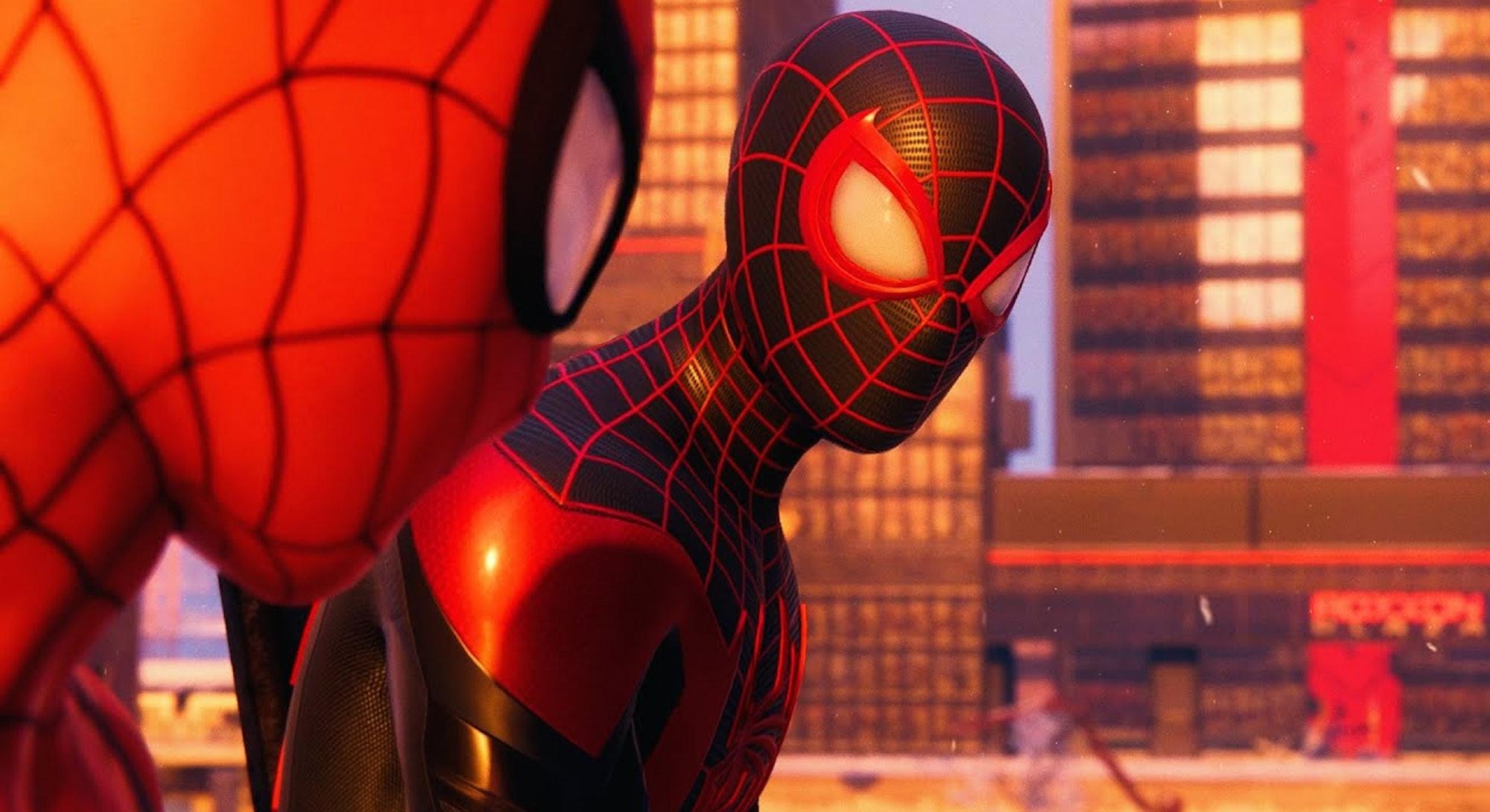 spider man miles morales peter miles