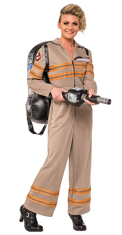 This women's Ghostbusters movie deluxe costume by Rubies is one Halloween costume choice.