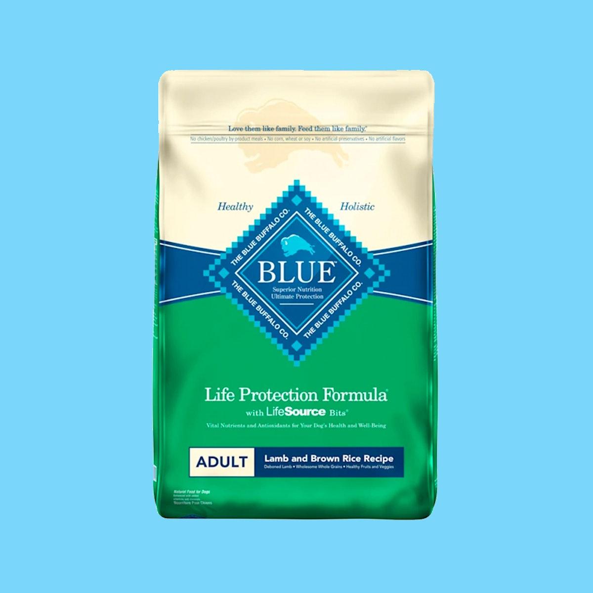 Blue Buffalo Life Protection Formula Natural Adult Lamb and Brown Rice Dry Dog Food, 30 lbs.