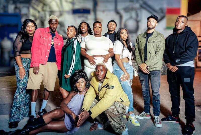 The cast of ITV2's 'Peckham's Finest'