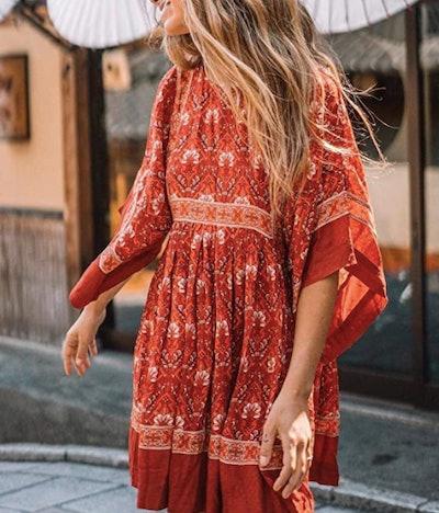 R.Vivimos Half Sleeve Dress