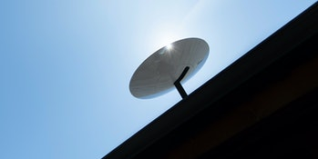 SpaceX's Starlink satellite dishes provide high speed internet access to homes.