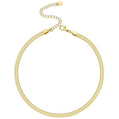 NUZON Chain Choker Necklace
