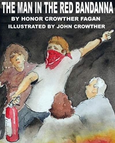 'The Man In The Red Bandana' by Honor Crowther Fagan, illustrated by John Crowther