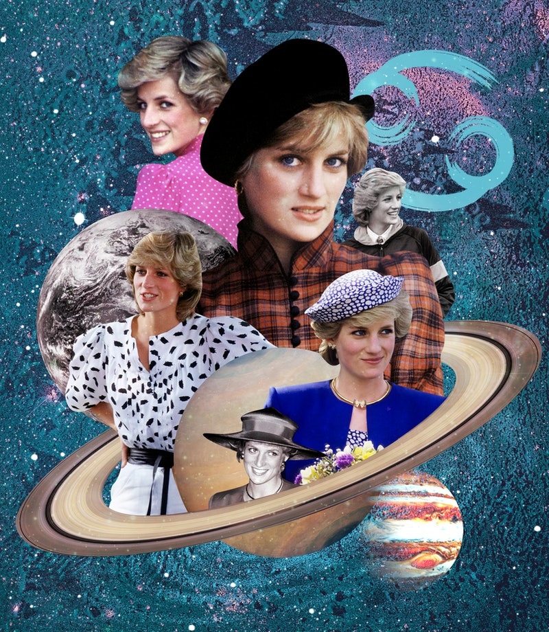 Born on July 1, 1961, Princess Diana's zodiac sign was Cancer.