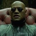 Morpheus in 'The Matrix'