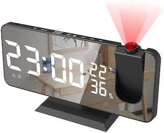 SZRSTH Digital Projector Alarm Clock