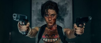 Mary Elizabeth Winstead as the titular assassin in Netflix's Kate