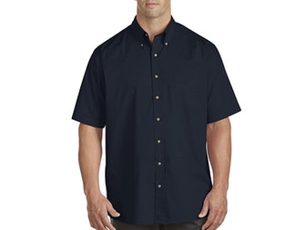 Harbor Bay by DXL Big and Tall Sport Shirt