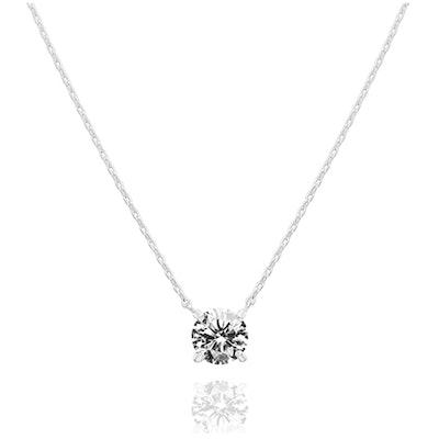 PAVOI 14K Gold Plated Swarovski Crystal Necklace