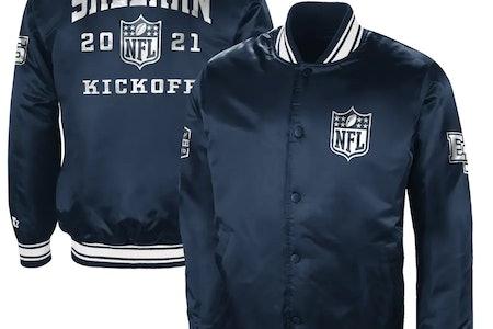 Ed Sheeran NFL Satin Jacket