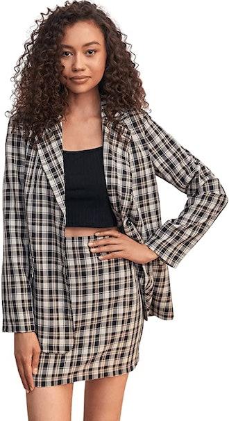 SweatyRocks 2-Piece Suit