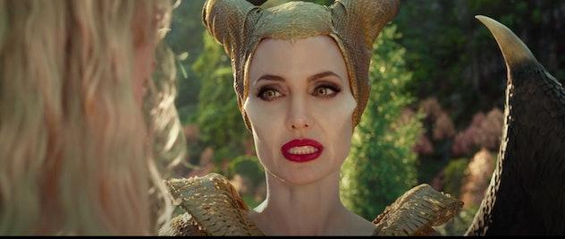 Angelina Jolie stars in Maleficent: Mistress of Evil.