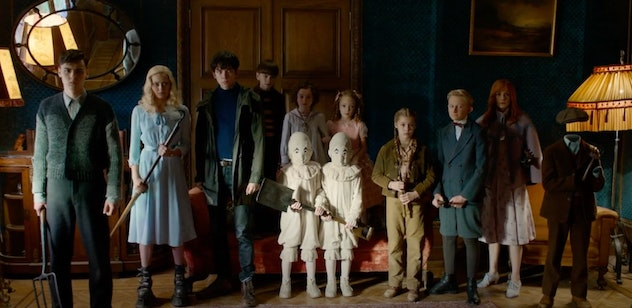 Miss Peregrine's Home for Peculiar Children is based on a book.