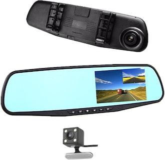jinyue Car Rear View Mirror Video Recroder
