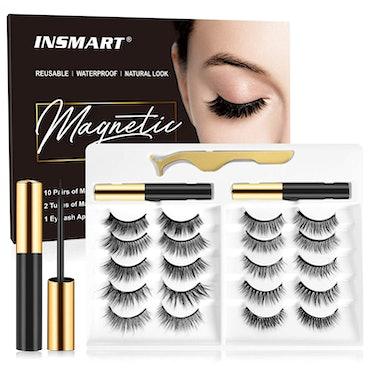 INSMART Magnetic Eyelashes With Eyeliner