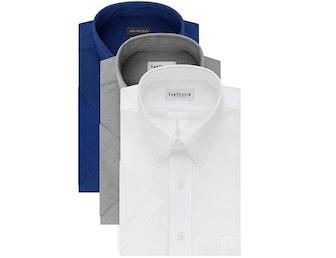 Van Heusen Short Sleeve Dress Shirt