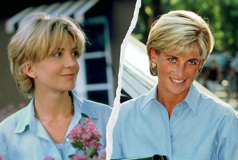 Princess Diana & Elizabeth James