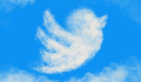 Twitter bird , twitter, twitter icon, flying in the sky, bird cloud , sky
