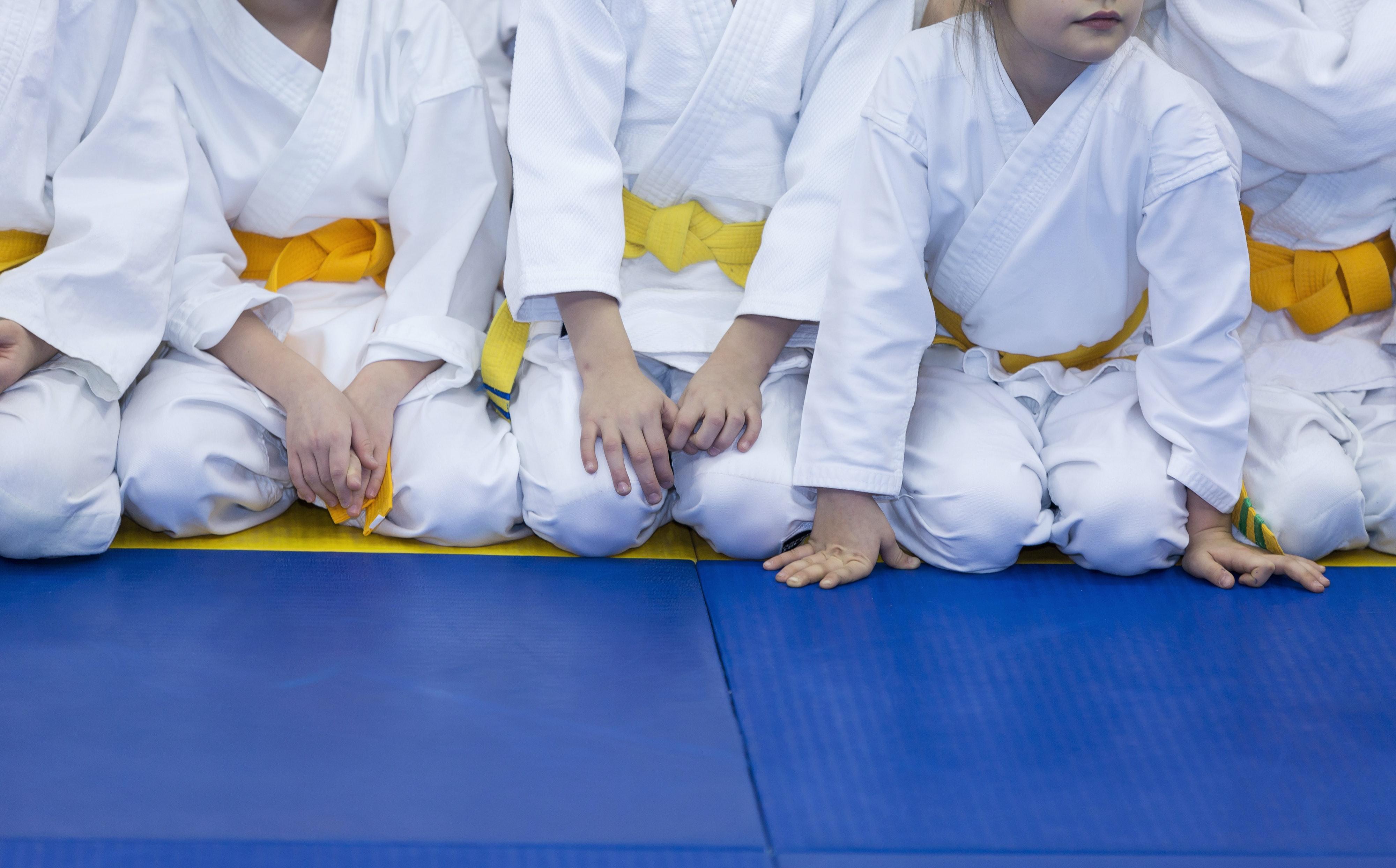 One Kick at a Time Karate Martial Arts Judo Boys Girls Baby Grow Vest Bodysuit