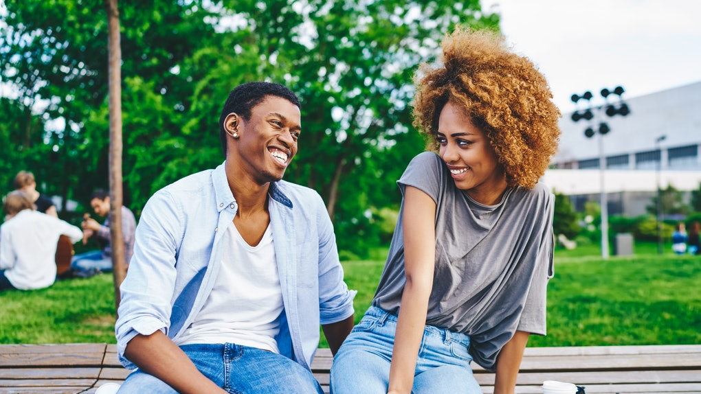 The Myers-Briggs personality types that flirt constantly are usually extroverted.
