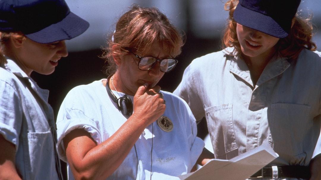 Lori Petty, Penny Marshall, Geena Davis