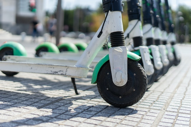 You can park your Lime electric scooter and end the ride once you're done using it.