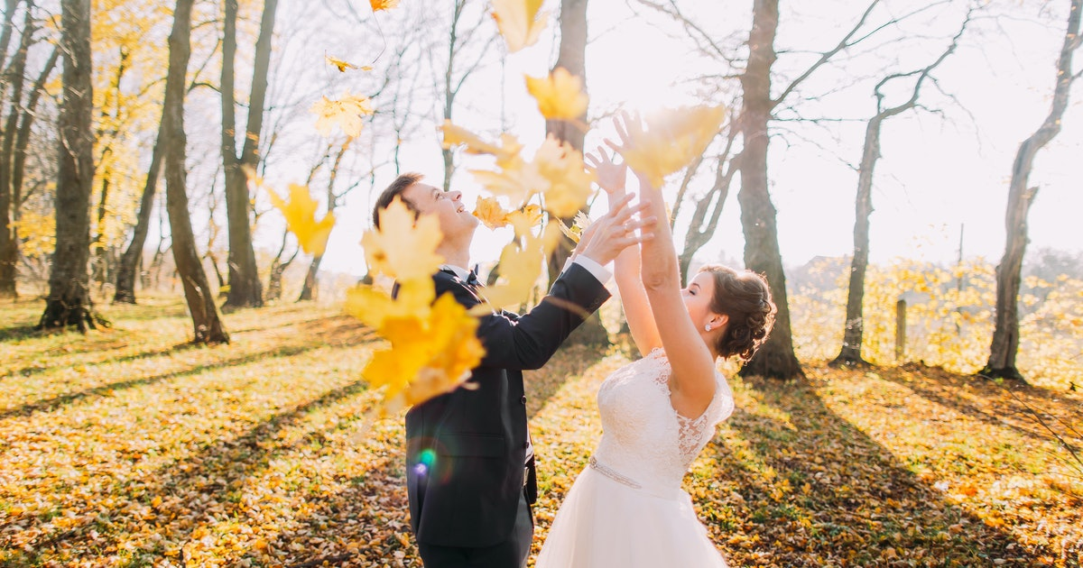 The Most Popular Wedding Date In 2019 Is In October