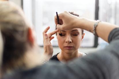 Doing makeup can be a creative way to make extra cash.