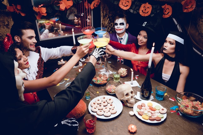 Throwing a Halloween party together will test your teamwork skills, and can make for a fun night with friends.
