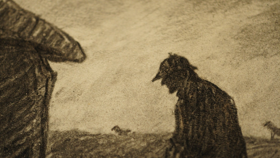 A Hound of the Baskervilles illustration by Frederic Dorr Steele from 1939