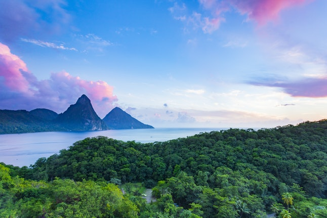 Spend New Year's Eve in St. Lucia