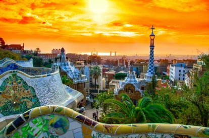Spend New Year's Eve in Barcelona, Spain.