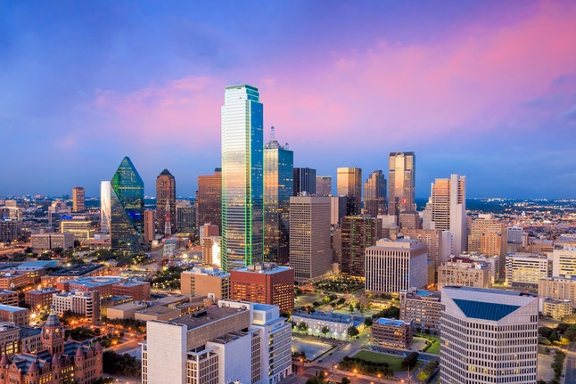 Spend New Year's Eve in Dallas, Texas