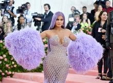Kylie Jenner attends The Metropolitan Museum of Art's Costume Institute benefit gala celebrating the...