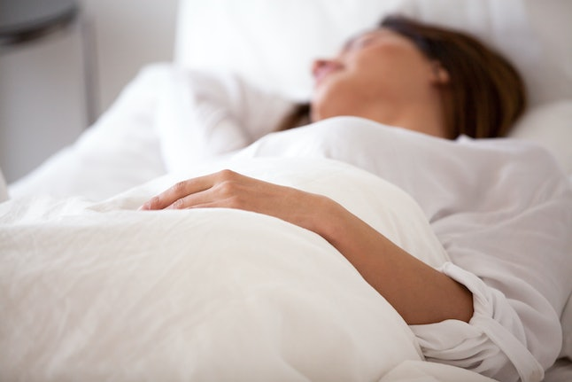 Experts say sleeping with white noise can create a sleep association, making it difficult to fall asleep without it.